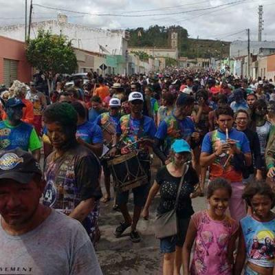 Festa dos Caretas, da cidade de Ribeirópolis, leva multidão para as ruas e comemoram um belo Carnaval.